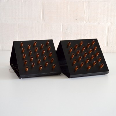 2 x Clair Obscur wall lamp by Raak Amsterdam, 1960s