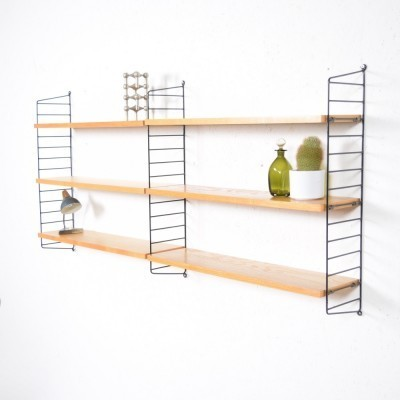 Regal wall unit by Kajsa Strinning & Nils Strinning for String Design AB