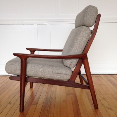 New Yorker lounge chair by Guy Rogers, 1960s