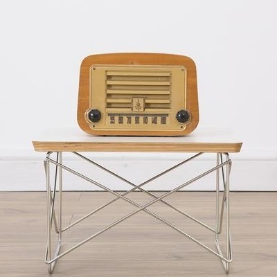 Radio from the forties by Charles & Ray Eames for Emerson