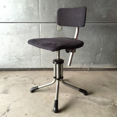 Model 360 office chair by Christoffel Hoffmann & W. Gispen for Gispen, 1950s