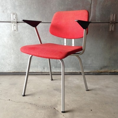 2 dinner chairs from the sixties by Friso Kramer for Ahrend de Cirkel