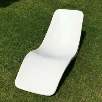 3 x Eurolax R1 Lounge lounge chair by Charles Zublena for Les Plastiques de Bourgogne, 1970s