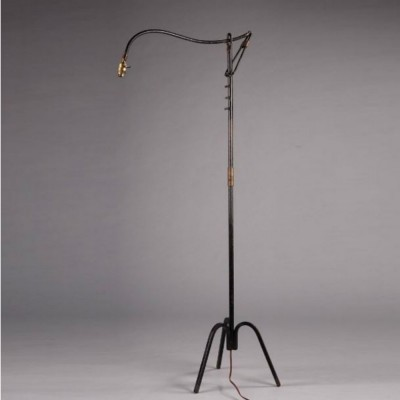 Jacques Adnet floor lamp, 1950s