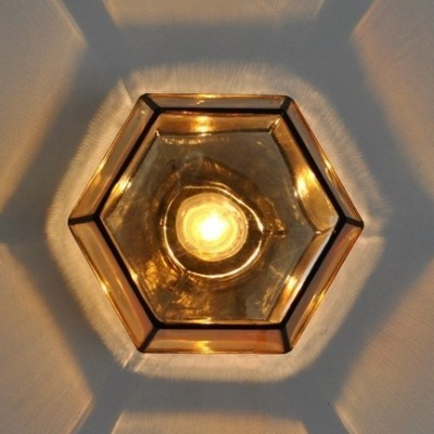 Honeycomb ceiling lamp by Bohmer Germany