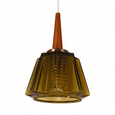 2 hanging lamps from the sixties by Carl Fagerlund for Orrefors
