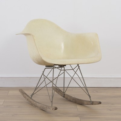 1st Generation RAR rocking chair by Charles & Ray Eames for Zenith Plastics, 1940s