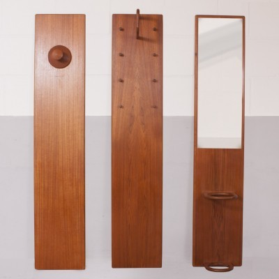 Set of 3 wall units from the sixties by Aksel Kjergaard for Aksel Kjersgaard