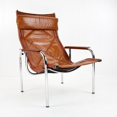 3 lounge chairs from the seventies by Hans Eichenberger for Strässle