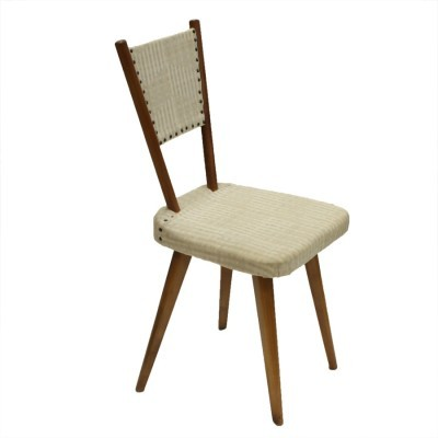 Dinner chair from the fifties by unknown designer for unknown producer