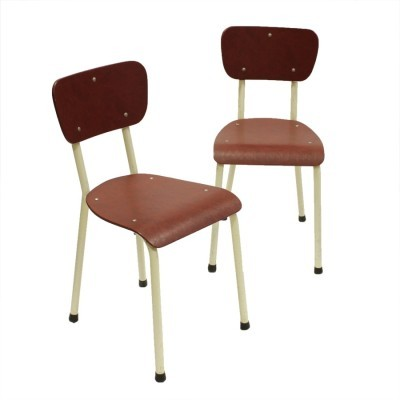 Set of 2 dinner chairs from the sixties by unknown designer for Brabantia