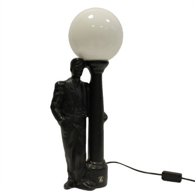 Desk lamp from the eighties by unknown designer for VL Ceramics Holland