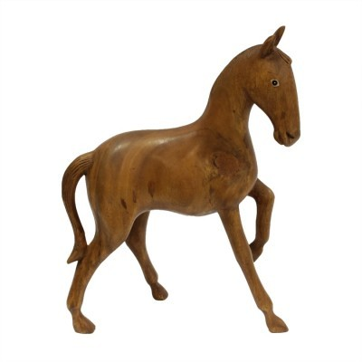 Wooden Horse from the sixties by unknown designer for unknown producer