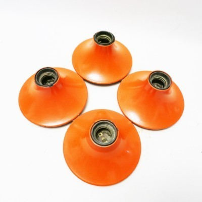 Set of 4 Teti wall lamps by Vico Magistretti for Artemide, 1970s