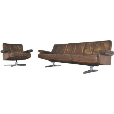 DS 35 seating group from the sixties by unknown designer for De Sede