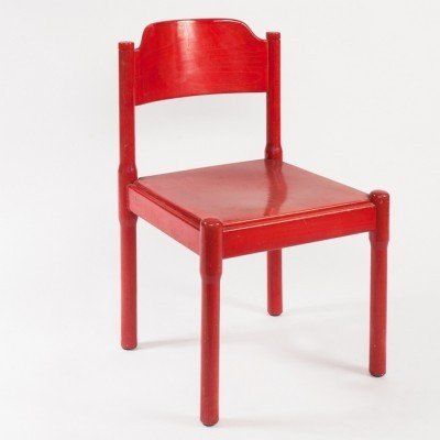 Dinner chair from the sixties by unknown designer for Zingg Lamprecht