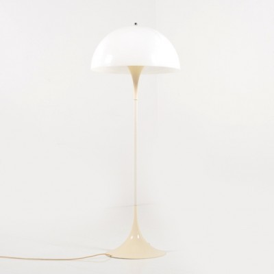 Panthella floor lamp from the seventies by Verner Panton for Louis Poulsen