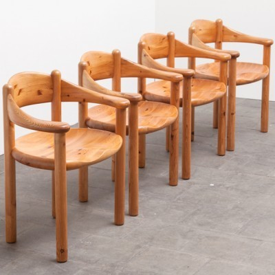 Set of 4 dinner chairs by Rainer Daumille for Hirtshals, 1960s