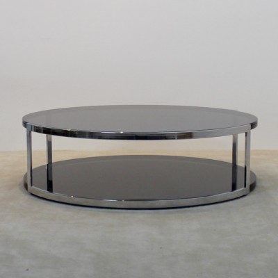 Coffee table from the sixties by unknown designer for Belgo Chrom