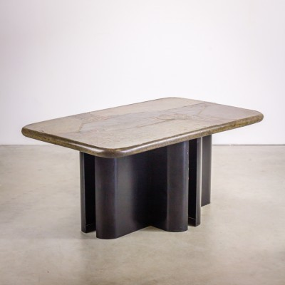 Coffee table from the eighties by Markus Kingma for Kingma