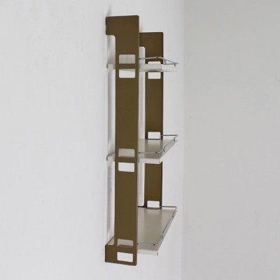 Beauty Rack wall unit from the sixties by D. Dekker for Tomado Holland