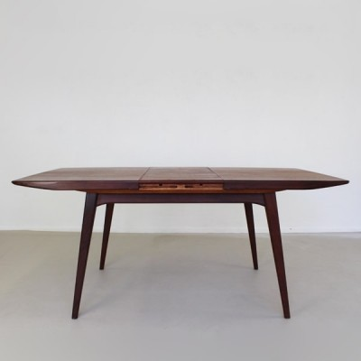 Dining table from the sixties by Louis van Teeffelen for Wébé