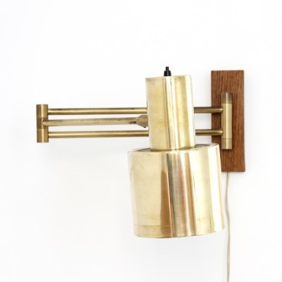 Horizont wall lamp from the sixties by Jo Hammerborg for Fog & Mørup