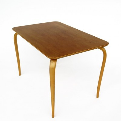 Coffee table from the forties by Bruno Mathsson for Karl Mathsson