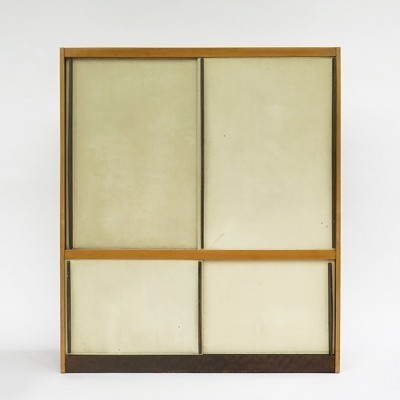 Cabinet from the fifties by Hans Bellmann for Wohnbedarf Basel