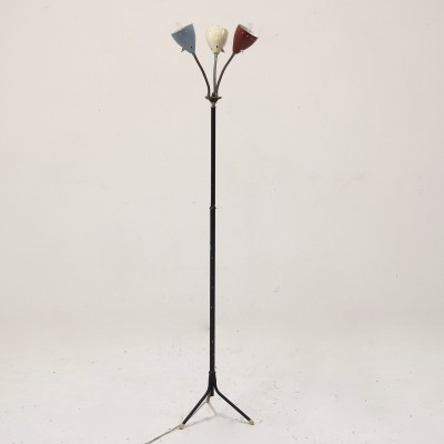 Floor lamp from the fifties by H. Busquet for Hala Zeist