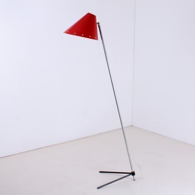 Pinocchio floor lamp from the fifties by H. Busquet for Hala Zeist