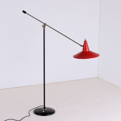 Balance floor lamp from the fifties by unknown designer for unknown producer