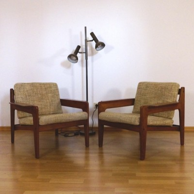 2 x lounge chair by Arne Wahl Iversen for Komfort, 1960s