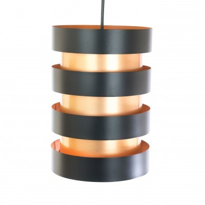 2 Eiffel hanging lamps from the sixties by Jo Hammerborg for Fog & Mørup