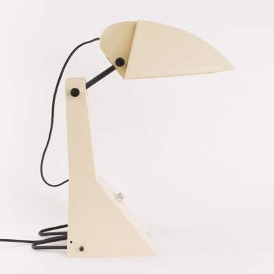E63 - Robot or Ruspa desk lamp by Umberto Riva for Bieffeplast, 1960s