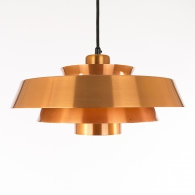 2 Nova hanging lamps from the sixties by Jo Hammerborg for Fog & Mørup