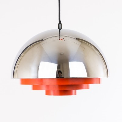 Milieu hanging lamp from the seventies by Jo Hammerborg for Fog & Mørup