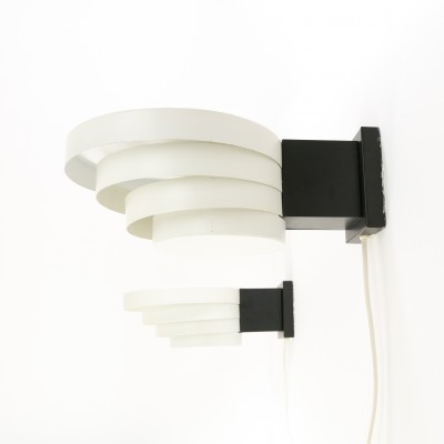 Set of 2 Cumulus - No. C-1683 wall lamps from the seventies by unknown designer for Raak Amsterdam