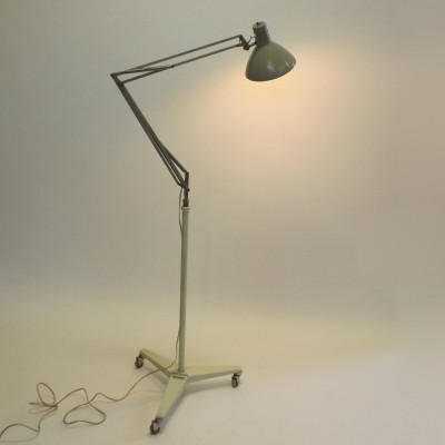 Docter floor lamp from the sixties by unknown designer for Hala Zeist