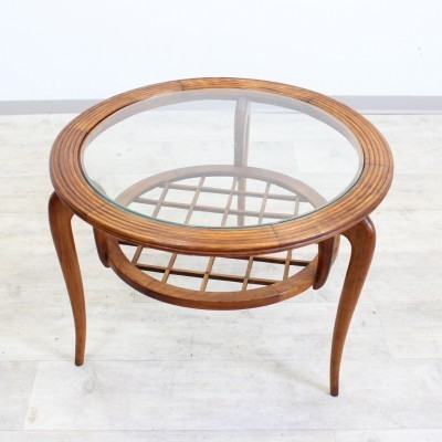 Coffee table from the forties by Paolo Buffa for unknown producer