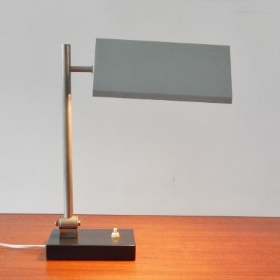 Desk lamp from the fifties by H. Busquet for Hala Zeist