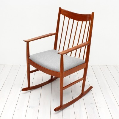 Rocking chair by Arne Vodder for Sibast, 1960s