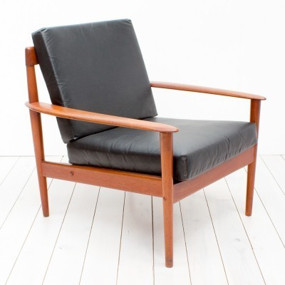 PJ56 arm chair by Grete Jalk for P. Jeppesens Møbelfabrik, 1960s