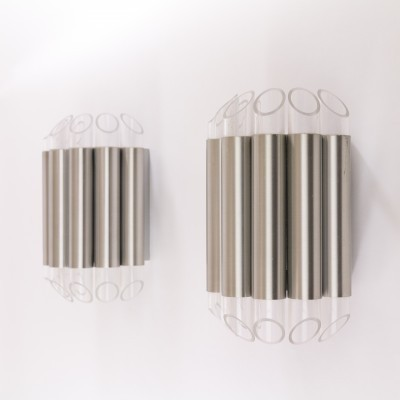 Set of 2 Septiem - No. C-1670 wall lamps from the sixties by Raak Design Team for Raak Amsterdam
