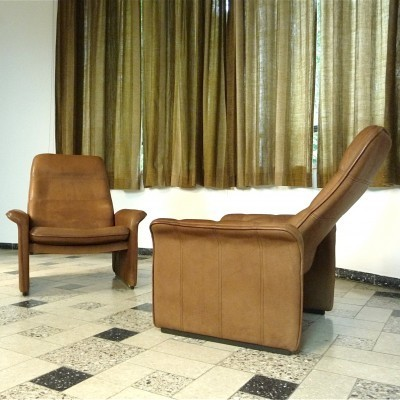 Set of 2 DS-50 lounge chairs from the sixties by unknown designer for De Sede