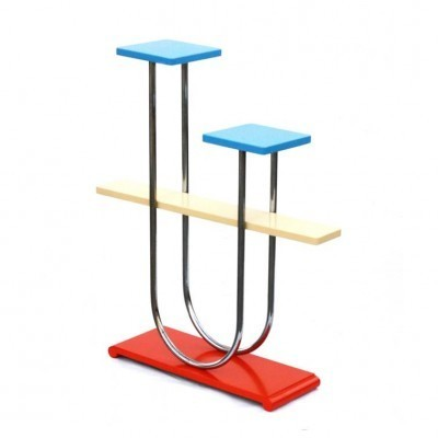 B4 Etagere side table from the forties by Robert Slezák for Slezak