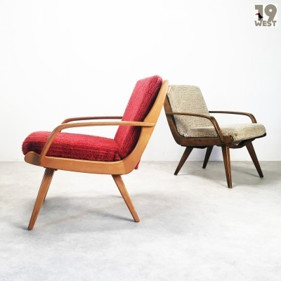 2 Molliperma lounge chairs from the fifties by unknown designer for Bertram Schrot