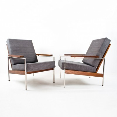 Set of 2 lounge chairs from the fifties by Rob Parry for Gelderland