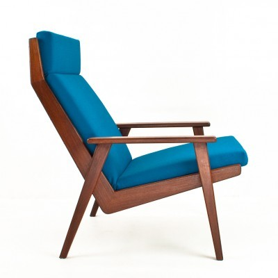 2 Lotus lounge chairs from the fifties by Rob Parry for Gelderland
