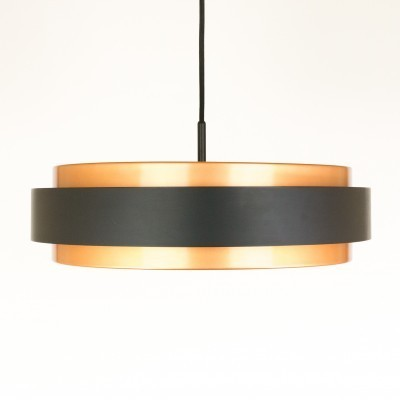 Dano Circular hanging lamp from the sixties by Jo Hammerborg for Fog & Mørup